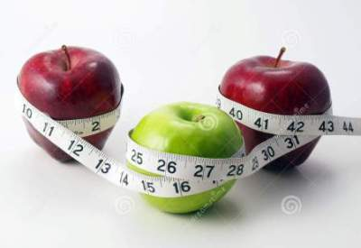 http://www.dreamstime.com/royalty-free-stock-photography-3-apples-circled-measuring-tape-image11053427